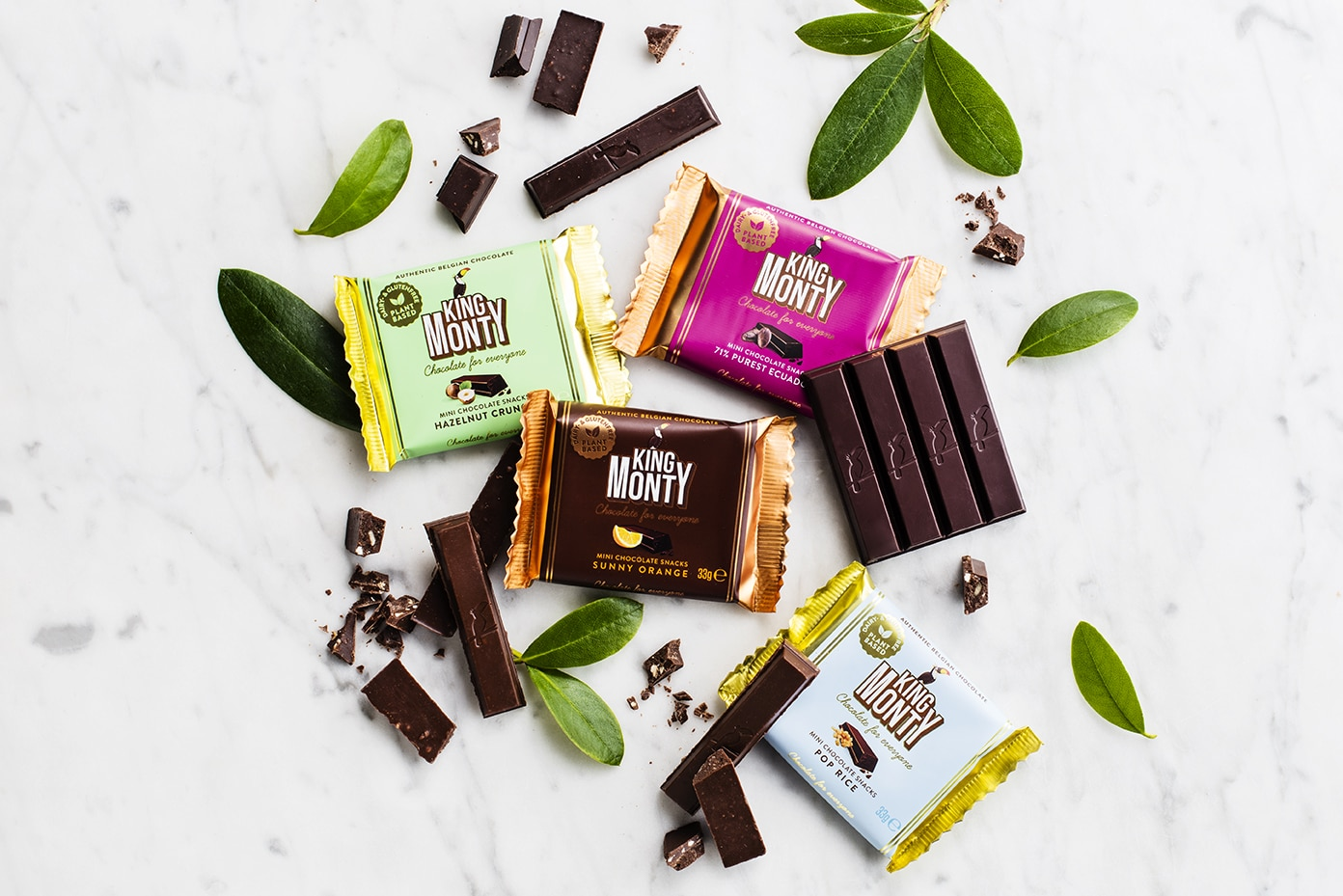 Website laten maken King Monty chocolate