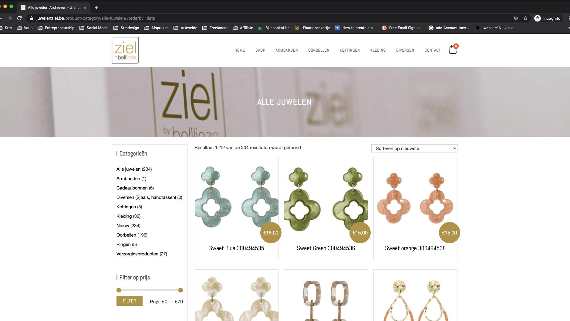 Webshop laten maken in Nazareth