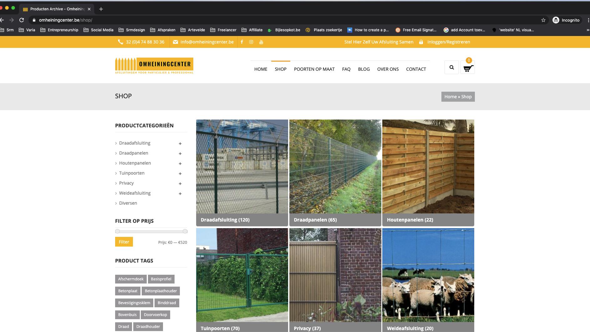 Webshop laten maken in Lebbeke